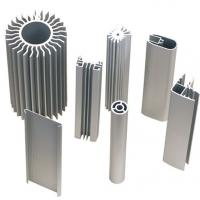 China heatsink part in aluminum by extrusion cnc machining turning milling on sale
