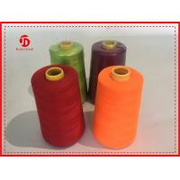 Buy cheap 40/2 5000Y Spun Polyester Thread Bright Color High Tenacity / Coats Polyester Thread product