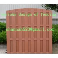 Buy cheap wood plastic garden fencing/edging product