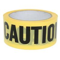Buy cheap Yellow PE Warning Tape(Barrier Caution Tape),Red DANGER Tape Caution Tape Roll 3-Inch Non-Adhesive Sharp Red Color Warni product