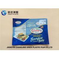 Buy cheap Oxygen Resistant 3 Side Heat Seal Plastic Bags for Sea Food Packaging CE / ROHS product