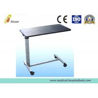Buy cheap Fireproof Wood Over-Bed Table Dining Table Hospital Bed Accessories ISO9001 (ALS-A09) product