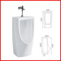 Buy cheap Popular New Style Sanitary Wares Wall Mount floor Standing Urinals product
