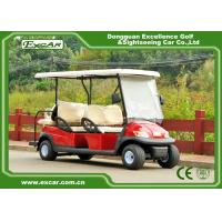 China 48V 6 Seater Electrical Golf Car 350A Controller / Golf Buggy Car With Rain Cover on sale