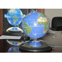 Buy cheap 4 inch Blue Custom Promotional Magnets , Levitation Magnetic Globe product