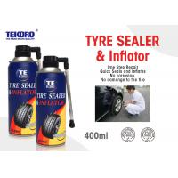 Buy cheap Non - Toxic Tire Sealer And Inflator For Fixing Flat Tire / Punctured Tire / Rubber Tire product