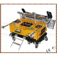 Buy cheap Automatic Stainless Steel Mortar Plastering Machine For Internal Wall Plastering product