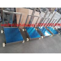 Buy cheap Movable Bench Weighing Scale With Wheels / Back Rail 60 X 80cm 500kg ROHS Approved product