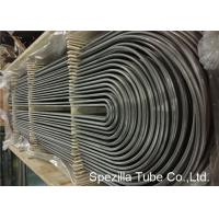 Buy cheap ASME SA213 U Bend Pipe for Heat Exchanger , TP304 Seamless Stainless Steel Tubing product