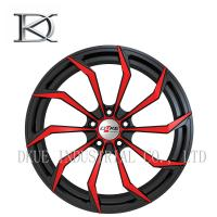 Professional Car 13 Racing Wheels 2 Pieces Gloss Black Finished