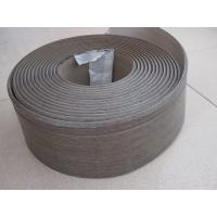 Quality 100mm width/5mm thickness/wood grain/PVC/skirting board/plastic building material for sale