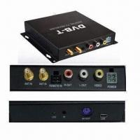 Buy cheap Twin Tuners DVB-T Set-top Box, Compatible with 576i/576p/720p/1,080i Video Formats product
