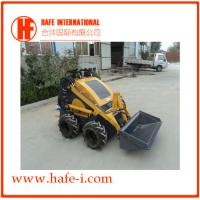 Buy cheap china famous brand   wheel Mini skid steer loader SSL-C300B USA Briggs&Stratton engine(23hp), bucket 0.15m3, Solid Tyres product