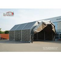 Buy cheap Aluminum Frame Temporary Aircraft Hangar Tent Structure With PVC Roof For Military product