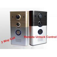 Buy cheap 32G TF Card Wireless Security Camera Doorbell With Remote Unlock Function product