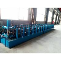 China GI. Carbon Steel Top Hat Channel Roll Forming Machine With 1.5 Inch Chain of Transmission on sale
