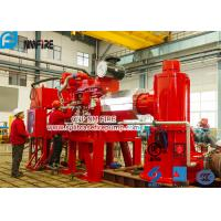 Buy cheap Foam Concentrate Used Multistage Vertical Turbine Fire Pump Sets With Firefighting Diesel Engine Driven With 750 Usgpm product