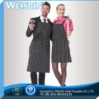 Coffee shop nice-looking durable ladies decorative cotton waiter aprons