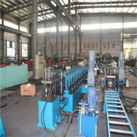 China Galvanized Outdoor Flexible Perforated Cable Tray Machine with Decoiling / Feeding / Guiding on sale