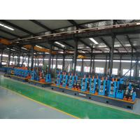 Quality Stainless Steel ERW tube Mill , 21 - 63mm Diameter Pipe Welding Line for sale