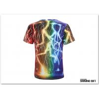 Buy cheap Unisex Thunder Lighting T-Shirts Fashion 3D Printed Short Sleeve Shirts product