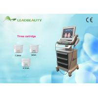 China Anti - Wrinkle Hifu Skin Rejuvenation Equipment  4 MHZ / 7 MHZ 2 Years Warranty wholesale