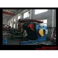 Buy cheap 1.2T Pressure Vessel Pipe Rotary Welding Positioner With Worktable Revolving And Tilting Type product