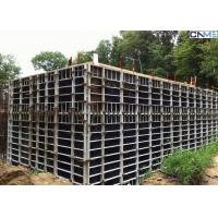 Buy cheap Steel Concrete Wall Formwork With Adjustable Clamp for Straight Wall Construction product