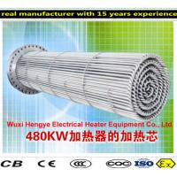 Buy cheap PT100 Thermostat Tubular Immersion Heaters With Temperature Sensor product