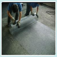 Buy cheap Metal Building stretched  aluminum expanded wire mesh product