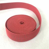 Buy cheap 4cm Width Lawn Furniture Repair Webbing Different Color Accepted Big Tension And from wholesalers