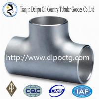 Buy cheap forged pipe fititng carbon steel tee/elbow/reducer/bend/cap with fluid steel tube manufacturing product