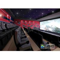 Buy cheap Wonderful Viewing Experience 4D Theater Equipment Seamless Compatibility With Hollywood Movies product