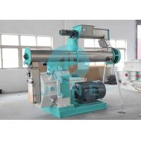 Buy cheap Grass Poultry Livestock Feed Pellet Machine / Cattle Feed Mill Machinery product