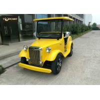 Buy cheap Classical 4 Seater Luxury Antique Battery Operated Golf Buggy Plastic Bodywork from wholesalers