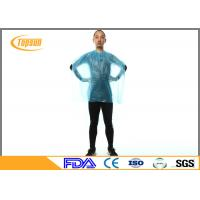 Buy cheap Waterproof Disposable Plastic Salon Cape For Beauty Hair Cutting , Hair Dresser Cape product