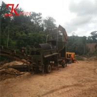 Buy cheap 100T/H Gold Mining Wash Plant product
