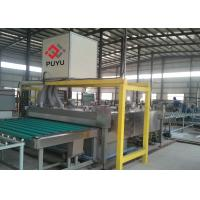 Buy cheap PLC automatic Glass Washing And Drying Machine For Glass Curtain Wall / Facade Glass product