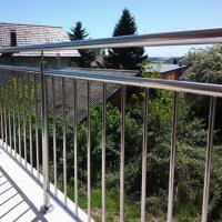 Buy cheap High Quality Stainless Steel Window Grill Design Balcony Railing with Wire / Cable / Rod Railing product