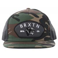 Camouflage Five Panels mesh back snapback hats For Fly Racing Embroider Swatched Logo