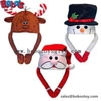 Buy cheap Soft Plush Warm Winter Cap Animal Party Hat Christmas Hat product