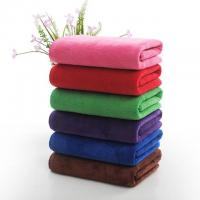 Buy cheap Microfiber Filling Hotel Collection Bath Towels Rectangle Shape 1200g product