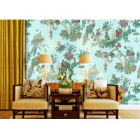 Buy cheap 0.53*10m Waterproof Country Style Wallpaper For Bedding Room , Non Woven Materials product