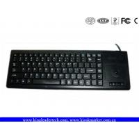 Buy cheap Compact Plastic Industrial Computer Keyboard IP65 With Function Keys And Trackball product