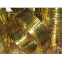Buy cheap Brass flat wire for zipper product