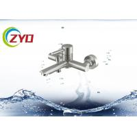 Buy cheap High Reliable Wall Mount Sink Faucet , SS Material Single Hole Bathroom Faucet product