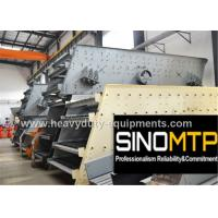 Buy cheap 970R / Min REV Stone Crusher Vibrating Screen With Long Flowing Line product