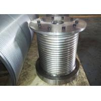 Buy cheap High Strength Crane Drum , Wire Rope Winch Drum For 22mm Diameter Cable product