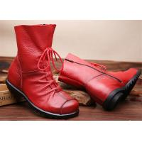 Buy cheap Hot retros original leather warm womens Martin boots for autumn and winter product