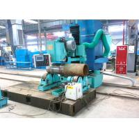 Buy cheap High efficiency Boiler Header Grinding Machine With Sand Wheel Abrasive Belt product